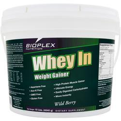 BIOPLEX NUTRITION Whey In Wild Berry 10 lbs