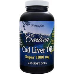 CARLSON Cod Liver Oil Super (1000mg) 250 sgels