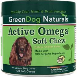 Green Dog Naturals Active Omega Soft Chew 130 chews