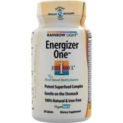 RAINBOW LIGHT Just Once - Energizer One Multivitamin 30 tabs