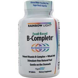 RAINBOW LIGHT Food Based B-Complete 90 tabs