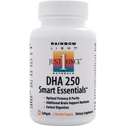 RAINBOW LIGHT DHA 250 Smart Essentials 60 sgels