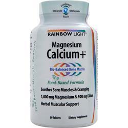 RAINBOW LIGHT Magnesium Calcium+ 90 tabs