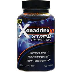 IOVATE Xenadrine XT - Xtreme Thermogenic 120 caps