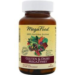 Megafood Gluten & Dairy Megazymes 60 caps