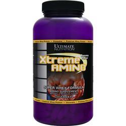 ULTIMATE NUTRITION Xtreme Amino - Super Whey Formula Banana 330 tabs