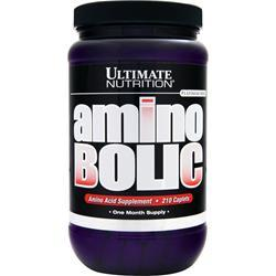 Ultimate Nutrition Amino Bolic 210 caps