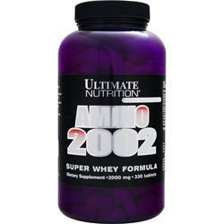 Ultimate Nutrition Amino 2002 - Super Whey Formula 330 tabs