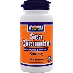 NOW Sea Cucumber (500mg) 100 caps