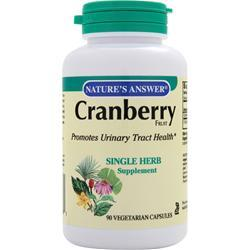 NATURE'S ANSWER Cranberry Fruit 90 vcaps
