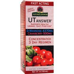 NATURE'S ANSWER UT Answer - Concentrated 3 Day Regimen 4 fl.oz