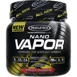 Muscletech Nano Vapor - Performance Series Fruit Punch 1.2 lbs