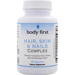 BODY FIRST Hair, Skin & Nails Complex 60 caps