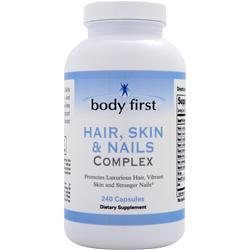 Body First Hair, Skin & Nails Complex 240 caps
