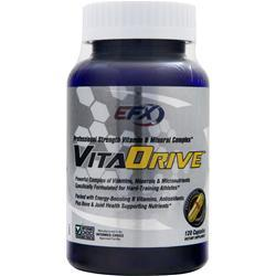 EFX SPORTS VitaDrive - Professional Strength Vitamin and Mineral Complex 120 caps