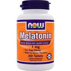 NOW Melatonin (1mg) 250 tabs