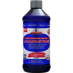 ALLMAX NUTRITION L-Carnitine Liquid Wildberry Blast 16 fl.oz