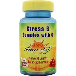 NATURE'S LIFE Stress B Complex with C 50 vcaps