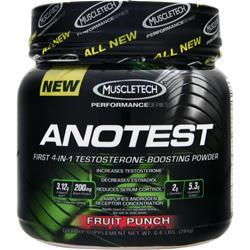 MUSCLETECH Anotest Fruit Punch .6 lbs