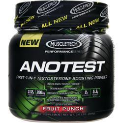 Muscletech Anotest Fruit Punch .6 lbs