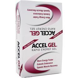PACIFIC HEALTH Accel Gel Raspberry Cream 24 pckts