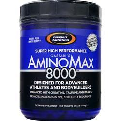 Gaspari Nutrition AminoMax 8000 350 tabs