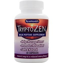 SYMBIOTICS Tryp-To-Zen - Milk Peptide Supplement 30 caps