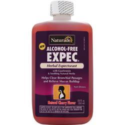 NATURADE Expec - Alcohol Free Herbal Expectorant Natural Cherry 8.8 fl.oz