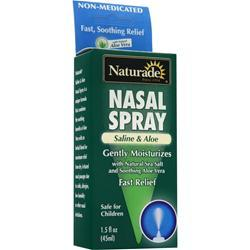Naturade Nasal Spray - Saline & Aloe 1.5 fl.oz