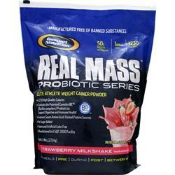 GASPARI NUTRITION Real Mass Probiotic Series Strawberry Milkshake 6 lbs