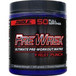SWOLE Pre Wrek - Ultimate Pre Workout Matrix Fruit Punch 349 grams