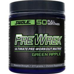 SWOLE Pre Wrek - Ultimate Pre Workout Matrix Green Apple 370 grams