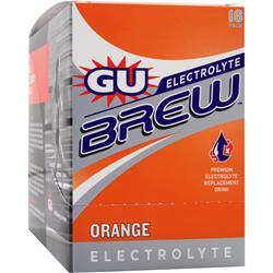 GU Electrolyte Brew Orange 16 pckts