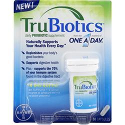 BAYER HEALTHCARE TruBiotics - Daily Probiotic Supplement 30 caps