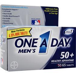BAYER HEALTHCARE ONE A DAY Men's 50+ Healthy Advantage 65 tabs