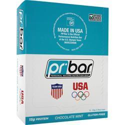 PR NUTRITION PR Bar - Personal Record Nutrition Bar Chocolate Mint 12 bars