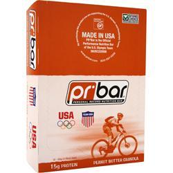 PR NUTRITION PR Bar - Personal Record Nutrition Bar Peanut Butter Granola 12 bars