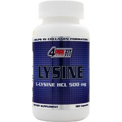 4 EVER FIT Lysine (500mg) 180 caps