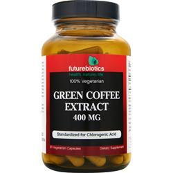 FUTUREBIOTICS Green Coffee Extract (400mg) Best by 8/14 90 vcaps