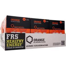 FRS Ready-To-Drink Cans Orange 24 cans