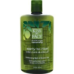 KISS MY FACE Early to Rise - Exhilarating Bath and Shower Gel 16 fl.oz