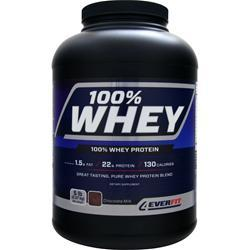 4 EVER FIT 4Ever Whey Protein Chocolate Milk 5 lbs