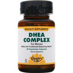 COUNTRY LIFE DHEA Complex for Women 60 vcaps