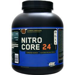 Optimum Nutrition Nitro Core 24 Ultimate Chocolate 6 lbs