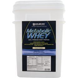 MRM Metabolic Whey - 100% Premium Whey Protein French Vanilla 10 lbs