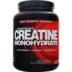 AST Micronized Creatine Monohydrate 1000 grams