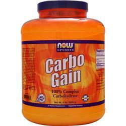 Now Carbo Gain - Pure Maltodextrin 8 lbs