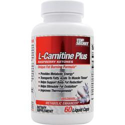 Top Secret Nutrition L-Carnitine Plus Raspberry Ketones 60 lcaps