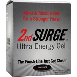 Pacific Health 2nd Surge Ultra Energy Gel Chocolate 8 pckts