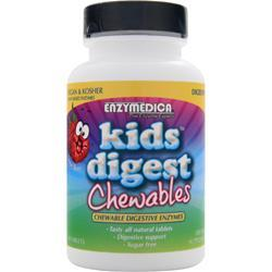 ENZYMEDICA Kids Digest Chewables Sour Berry 90 tabs